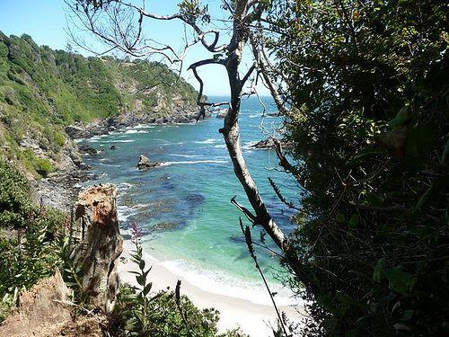 Playa Los Burros, Hualpen, Region del Bio Bio, Chile