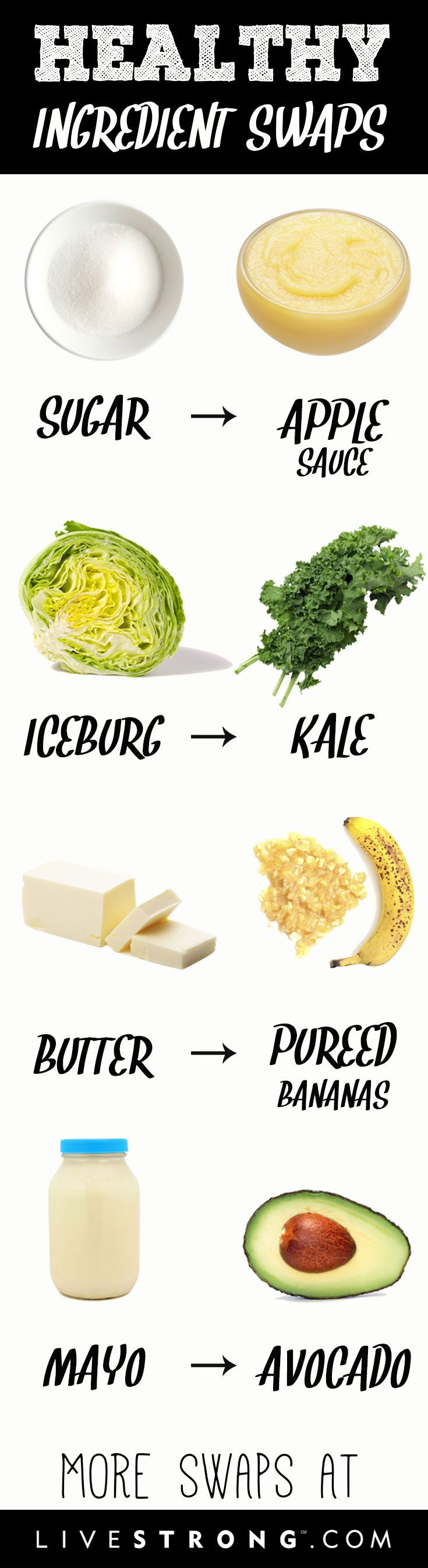 9 super ingredient swaps to boost nutrition while slashing calories, sugar and saturated fat!