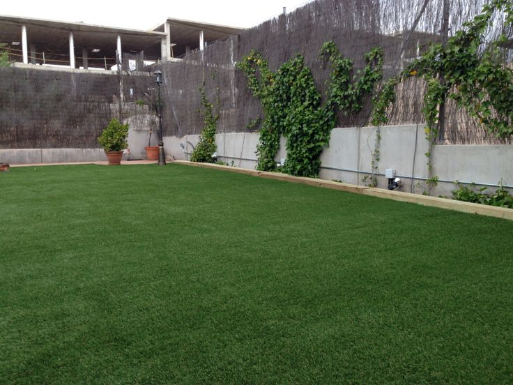 jardin con csped artificial diversso xtra tambien conocido como cespd banica se ha delimitado las