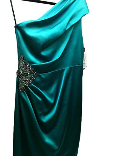 David Meister ZJYT7402 Emerald Cocktail Dress (Size: 6)