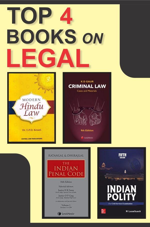 4 Legal Books Books Criminal Law Cases Good Books