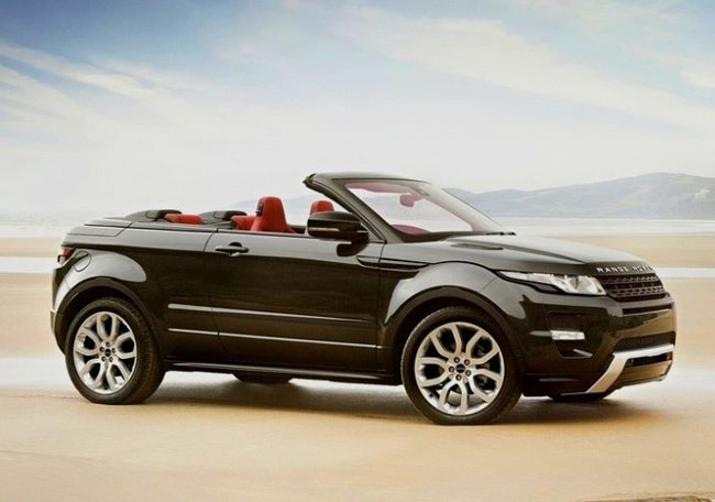 I say YES to this concept car ;) Range Rover Evoque Cabriolet