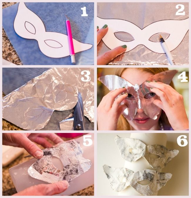 How to make your own masquerade masks