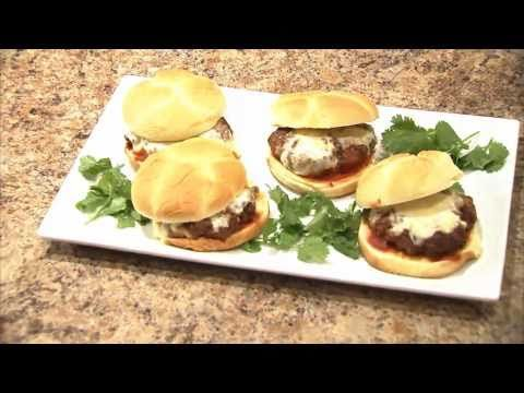 How to prepare Pizza Burgers using the NuWave Oven