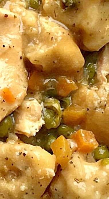Slow Cooker Chicken & Dumplings ❊