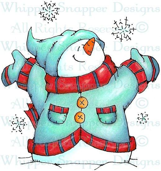 Snowtime! - Snowmen Images - Snowmen - Rubber Stamps - Shop