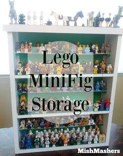 Lego Mini Figure Storage #lego #minifig