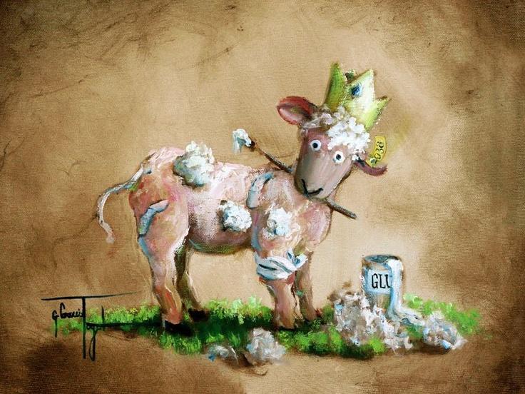 Картинки с смешными овечками, парню день рождение