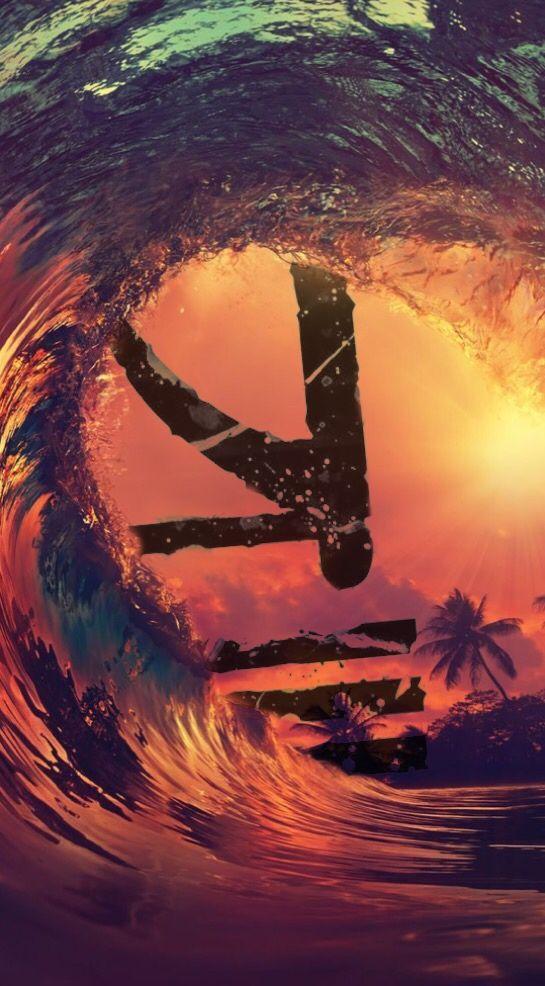 KSHMR logo #kshmr #kshmrlogo #logo #waves #gracethekshmrfan