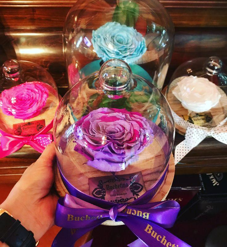 Comanda clopot de sticla cu trandafiri nemuritori @buchetino  http://www.buchetino.com/ro/home/187-trandafiri-nemuritori.html ☎️ 0723949413
