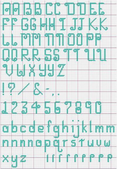 85 Best Images About Cross Stitch Alphabets On Pinterest
