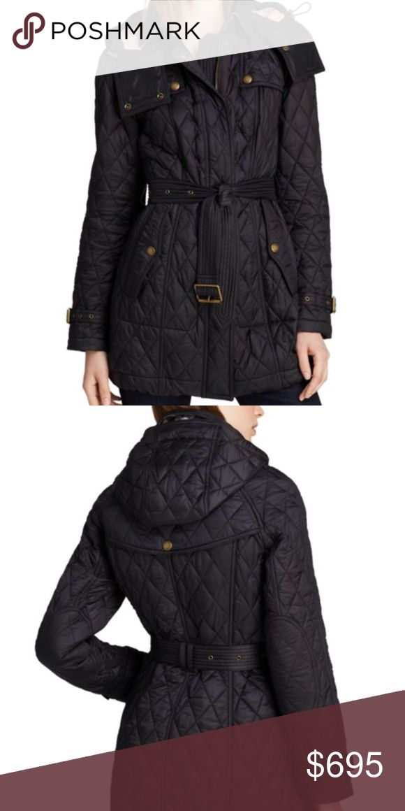 Burberry Finsbridge Quilted Coat Mint condition. Comes with extra buttons. Only flaw is there is a stock number written in sharpie over the tag inside the coat. Burberry Jackets & Coats Puffers