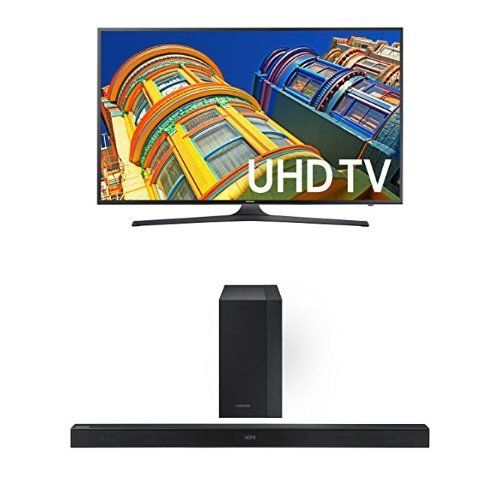 Samsung UN65KU6300 65-Inch TV with HW-K450 Soundbar...