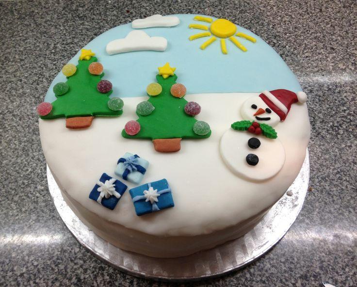 how to make marzipan icing for christmas cake