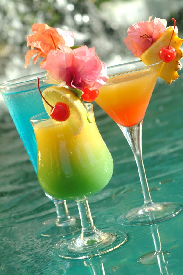 25 Best Images About Tropical Cocktails On Pinterest