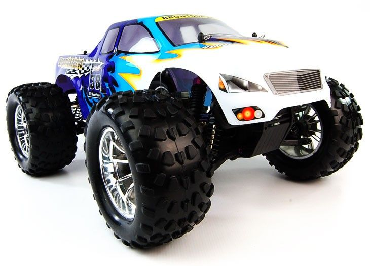 Bug Crusher 2.4Ghz Electric RC Truck - http://www.nitrotek.co.uk/241.html