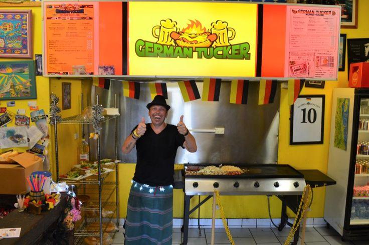 German Tucker in Kuranda, Far North Queensland Definitely has the happiest people on earth! And great Food!