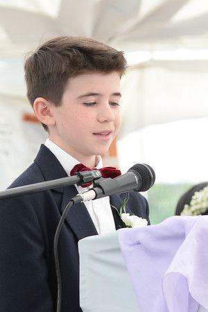 2015-16 8th Grade Graduation - 8th Grader gives his graduation speech