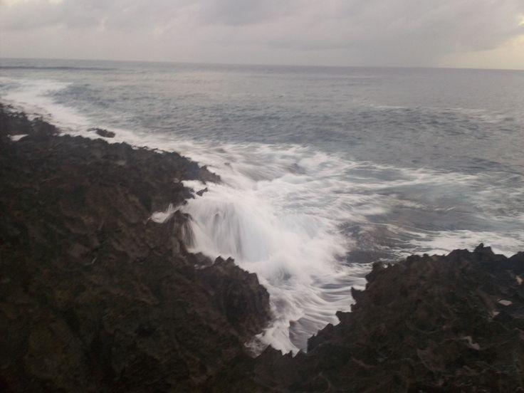 La fuerza del mar.