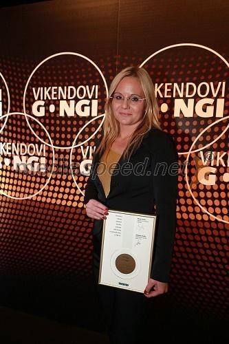 Katja Šeruga, glavna in odgovorna urednica časnika Večer