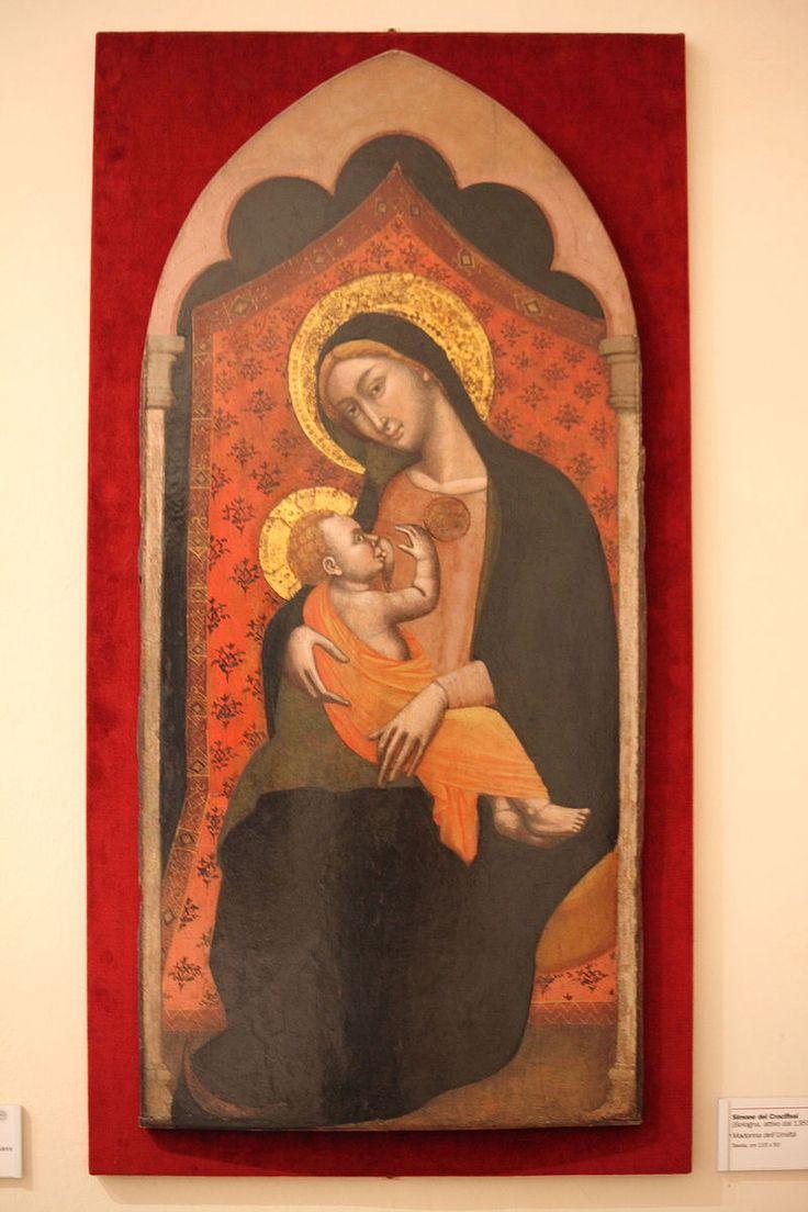 Madonna dell'Umiltà di Simone dei Crocifissi.JPG