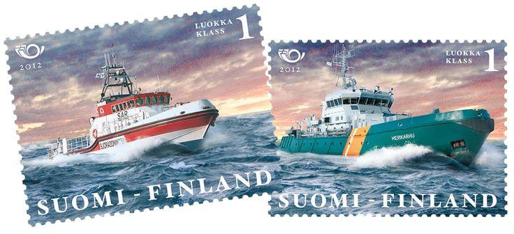 €1.70 Norden: Merellinen Pohjola 2012 - kahden postimerkin pienoisarkki