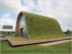 Une maison originale vient d'être inaugurée à Sillery près de Reims. Imaginée par l'architecte-designer Patrick Nadeau,