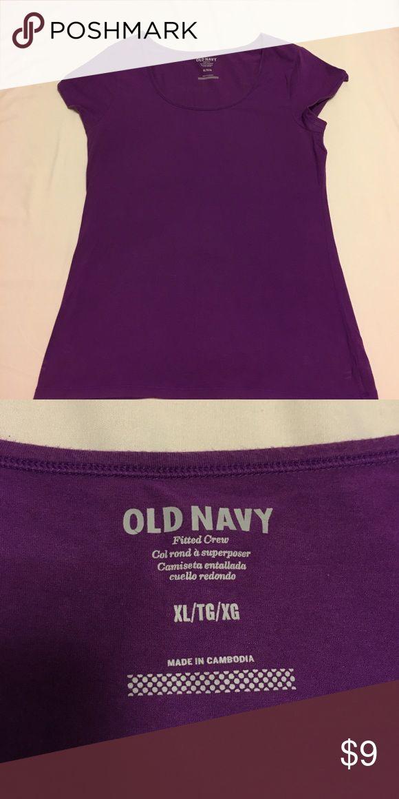 Women's tee Old Navy purple women's tee size XL Old Navy Tops Tees - Short Sleeve