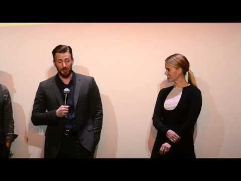 ▶ TIFF 2014 Before We Go Intro and Q&A - YouTube   Chris Evans and Alice Eve