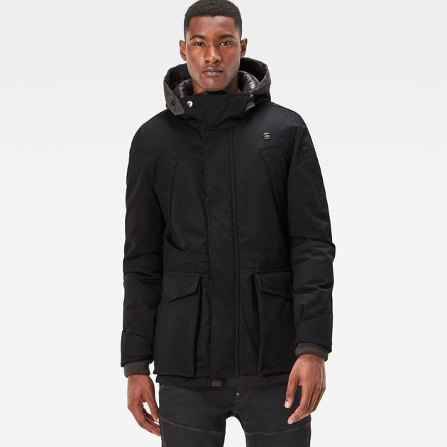 Expedic Down Hooded Jacket | black | Men | G-Star RAW®