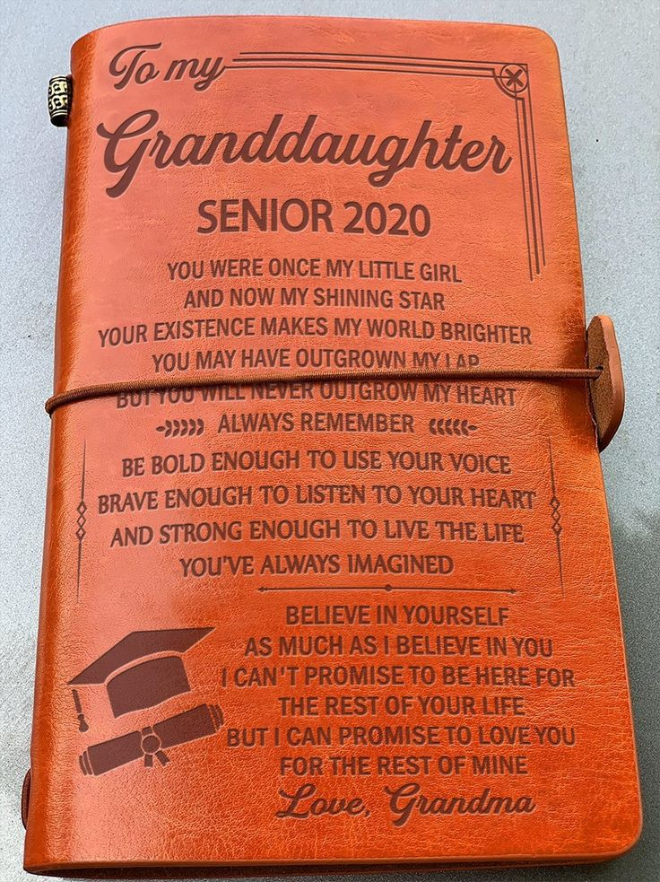 Granddaughter Grandma Believe In Yourself Senior 2020 Vintage Journal Forever Love Gifts In 2020 Love Gifts Vintage Journal Family Strength Quotes