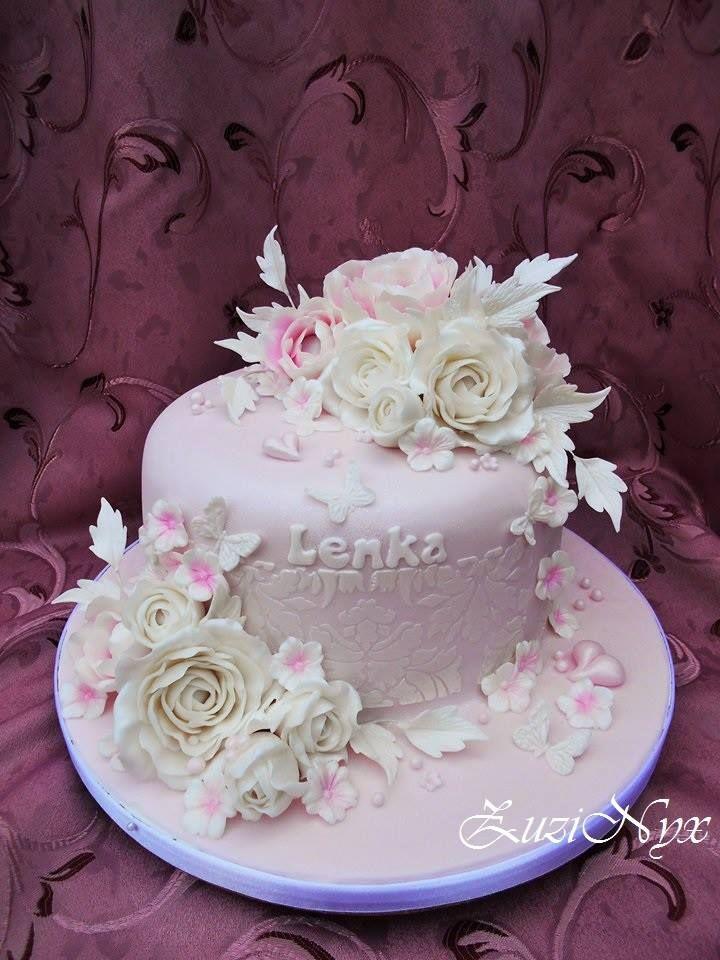 ružovo-biela
