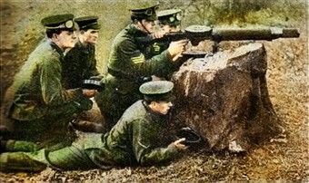 Lewis machine gun crew, january 1918, pin by Paolo Marzioli