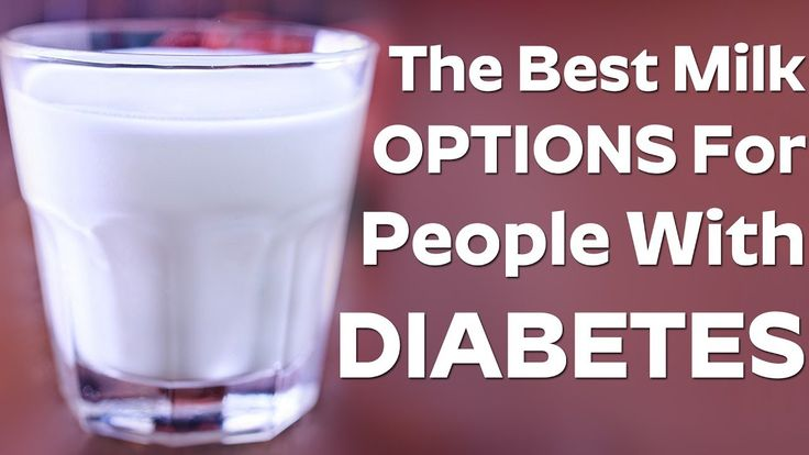 The Best Milk Options For People With Diabetes