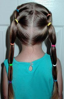 Shaunells Hair Little Girls Hairstyles Cute Puffy Braids 7 10 Min