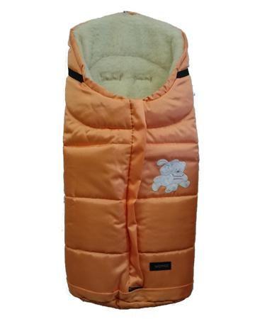 Womar в коляску Wintry polar оранжевый  — 2836р. --------------- Спальный мешок в коляску Wintry polar оранжевый Womar  Вомар  обеспечит тепло и уют ребенку во время осенне-зимних прогулок в колясках разных типов. При его производстве используется полиэстер -  непромокаемый материал, и флис, который является  теплым, н...
