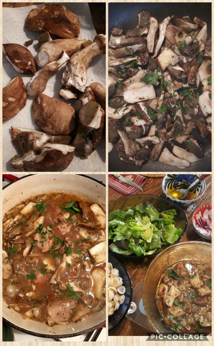 La table lorraine d amelie veau aux cepes et girolles en - Saut De Veau Aux C Pes