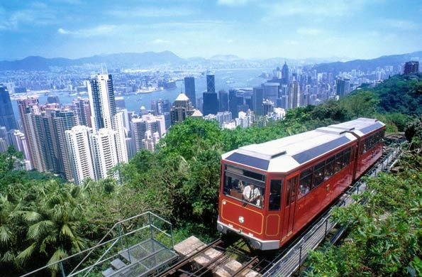 Take the peak tram for amazing views of the city, go up to The Sky Terrace 428 for 360 views. Talk a walk on the Hong Kong Trail which circles the Peak for views of Hong Kong island, Kowloon, Victoria Harbour & the outlying islands.