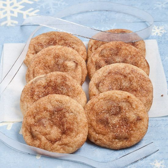 Chewy Soft Snickerdoodles Cookies- Going to try these without the cinnamon chips (since its March and not December)
