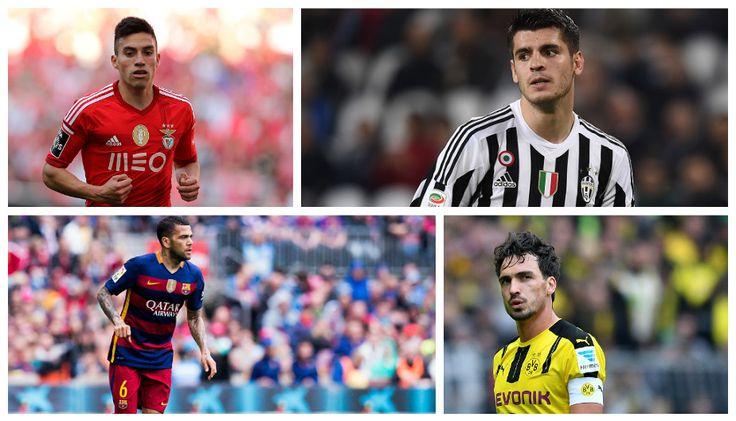 ¿Cómo se van reforzando los clubes de Europa