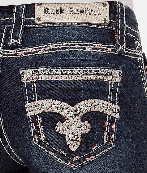 Rock Revival Urbanred Mid-Rise Boot Stretch Jean at Buckle.com