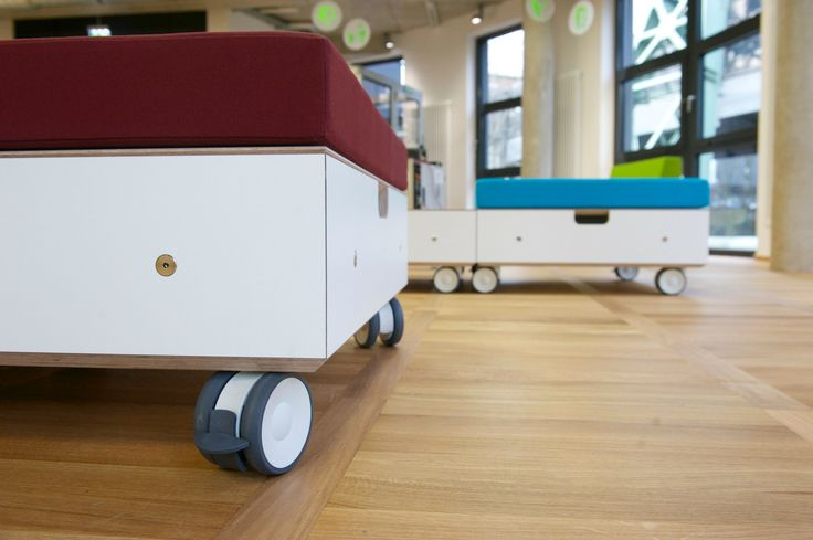 Non-Profit Project with modular furniture for Junior Uni Wuppertal made by squareone