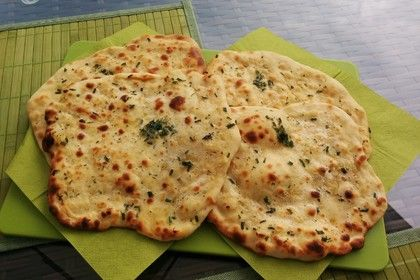 Fluffiges Naan Brot 1