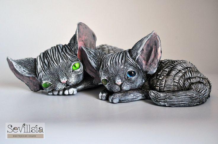 Миниатюрные котики девон рекс с нашими глазками от [club23613716|Мастерской кошек Sevillsia]! http://www.livemaster.ru/sevillsia  #adelkawalka #handmade #glasseyes #fortoys #fordolls #taxidermy #teddybear #bjd #furry #стеклянныеглазки #стеклянныеглаза #глазкидляигрушек #ручнаяработа