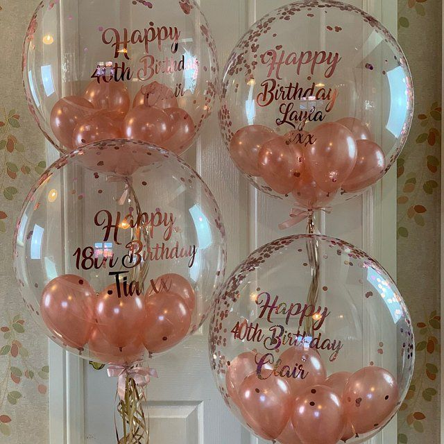 Personalised Balloons & Gifts By Balloonzest On Etsy