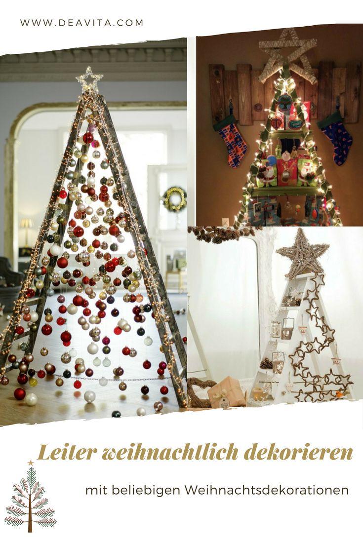 die besten 25 weihnachtlich dekorieren ideen auf. Black Bedroom Furniture Sets. Home Design Ideas