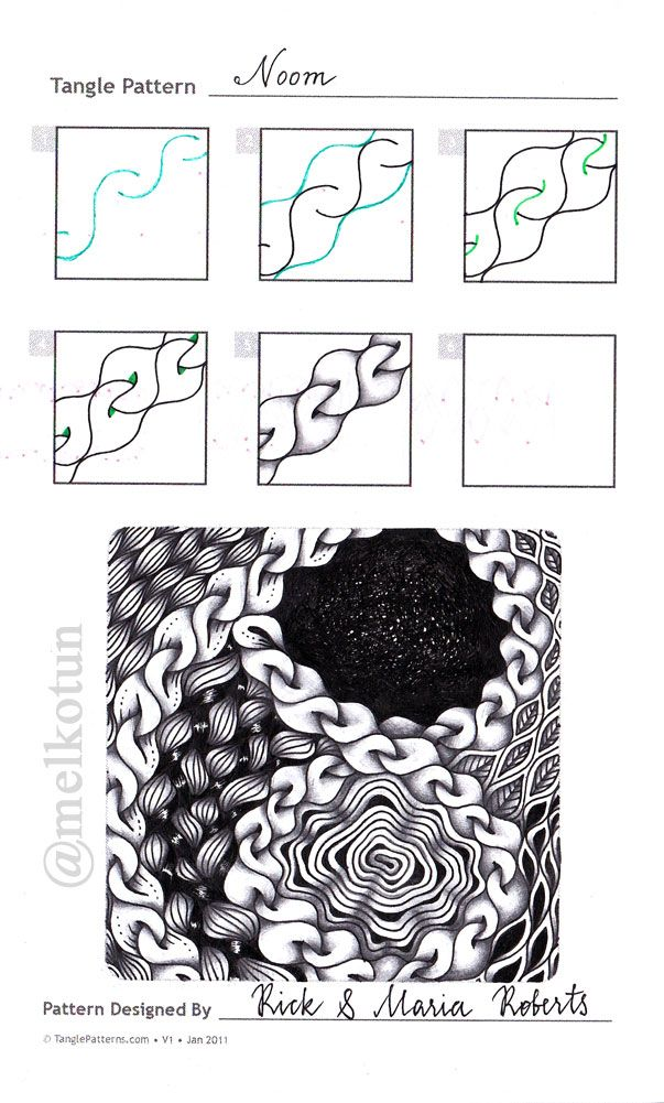 415 best Zentangle images on Pinterest | Zentangle muster ...