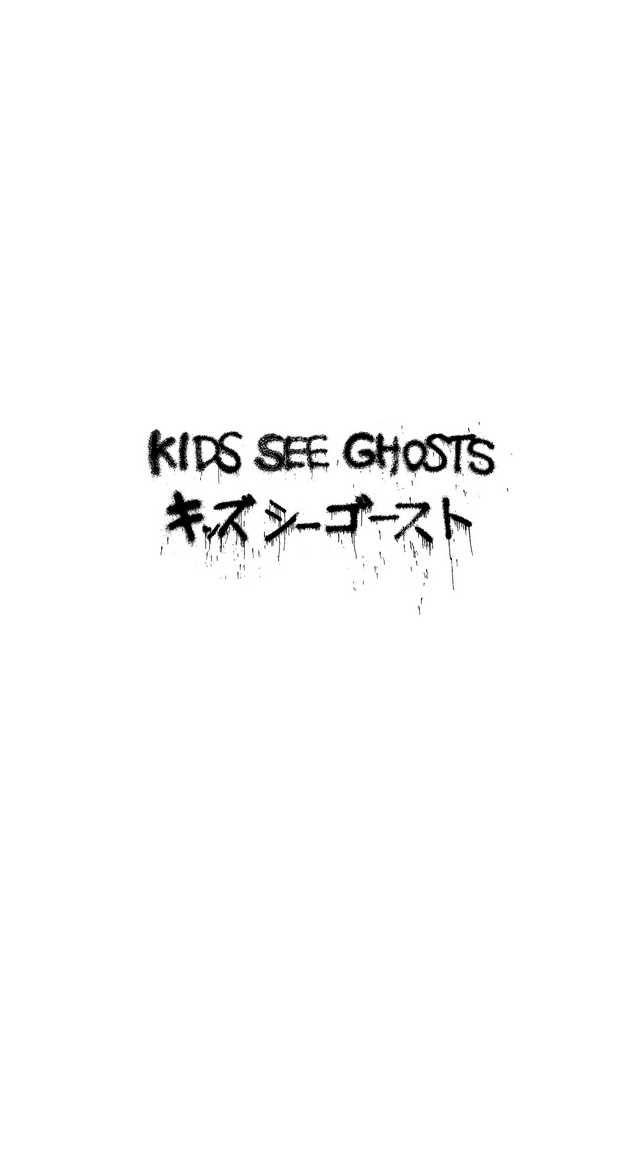 Kids See Ghosts Kanye Iphone Wallpaper In 2019 Yeezus