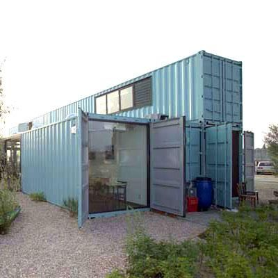 A do it yourself diy reference and architectural design service for converting recycled for Design your own shipping container home