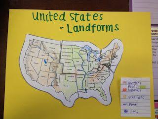 *Amazing* unit plan for United States Landforms